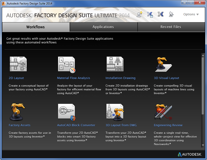 Launchpad Workflows Search Autodesk Knowledge Network