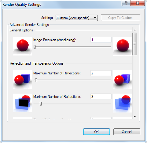 Defining a Custom Render Quality | Revit Products | Autodesk