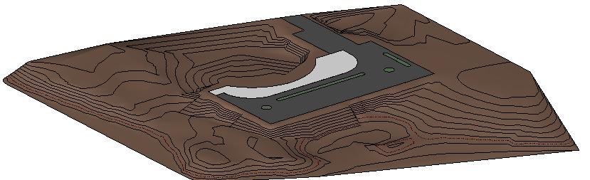 Topographie revit