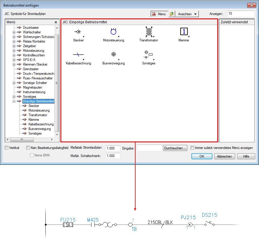 AutoCAD Electrical Longbow Hilfe: Informationen zu ...