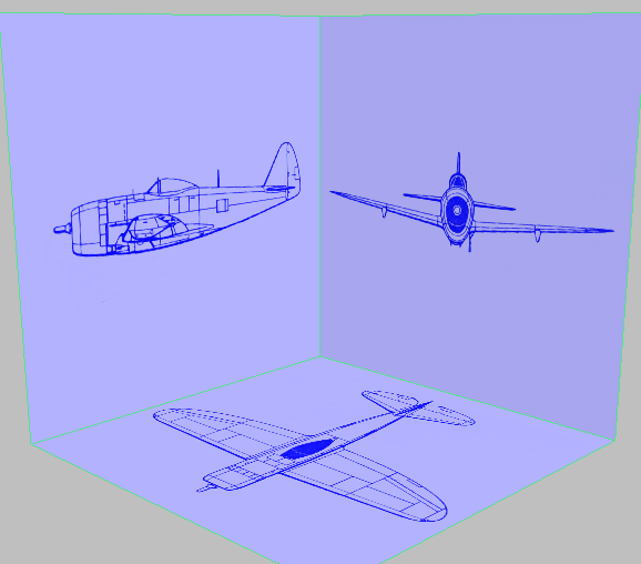 Pointers on setting up a virtual studio 3ds max autodesk virtual studio for the p 47 model malvernweather Choice Image