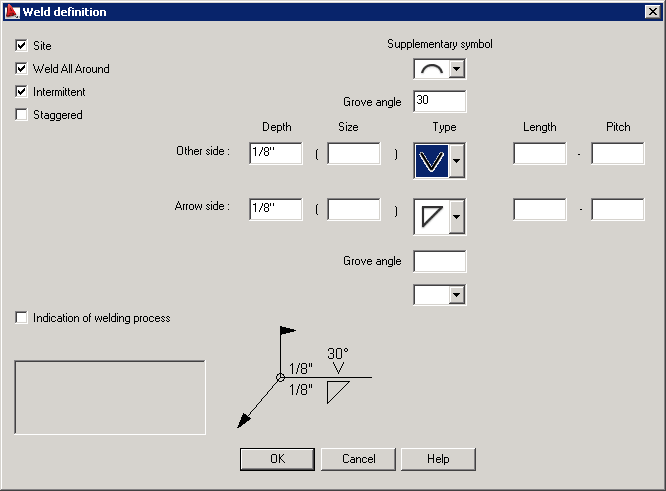 Inserting Weld Symbols Into Drawings Autocad Structural Detailing