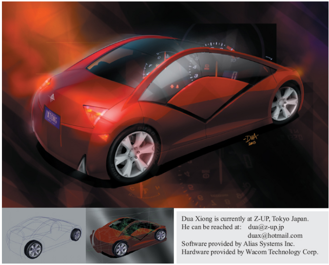 Car Styling: Sketching | Alias Products | Autodesk Knowledge Network