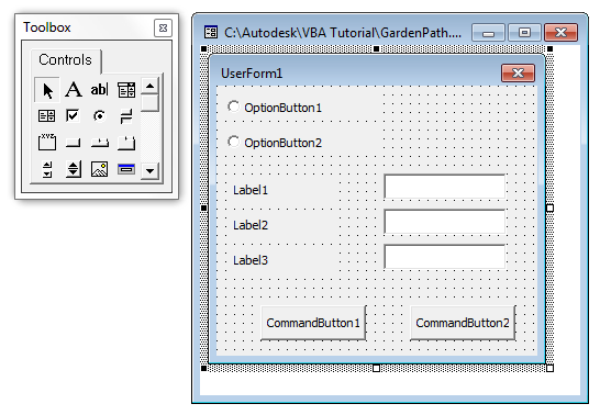 Creating and Adding Controls to a Dialog Box | Search | Autodesk