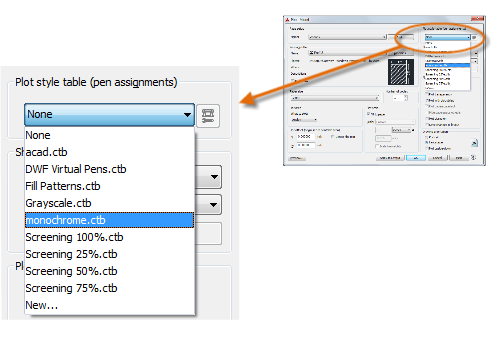 File Or For Printing Example You Might Want To Create A Drawing In Color But Monochrome Output Here Is How Specify