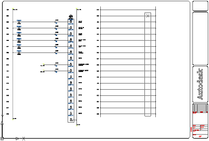 Inserting PLC modules  sc 1 st  Autodesk Knowledge Network : 1756 ia16 wiring diagram - yogabreezes.com