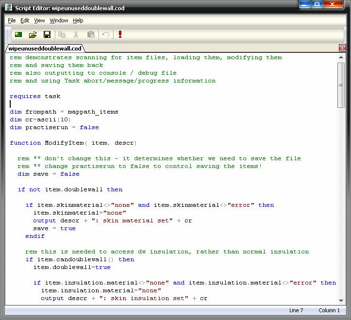Help: Scripting Definitions