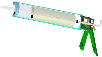 How a Caulk Gun Works | Inventor | Autodesk Knowledge Network