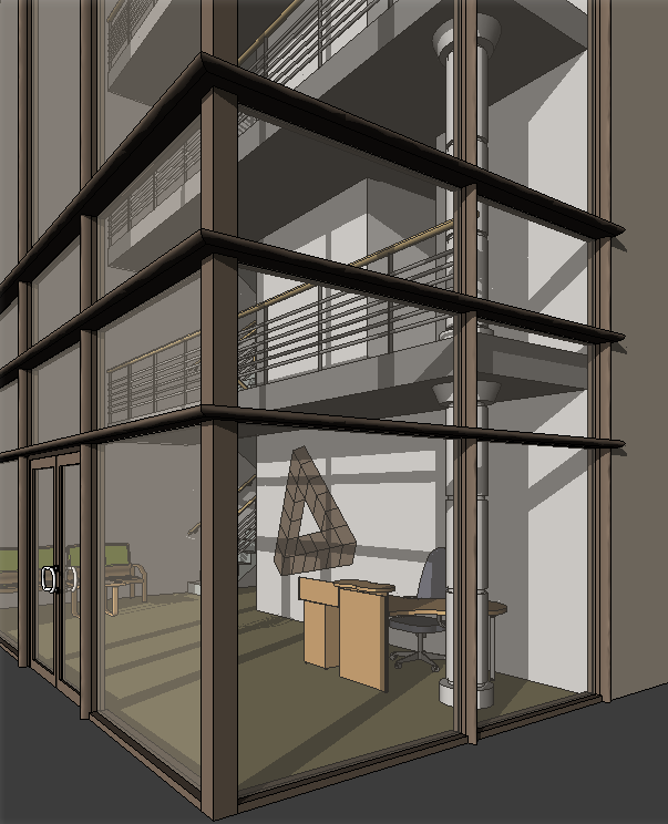 About Curtain Walls | Revit LT | Autodesk Knowledge Network