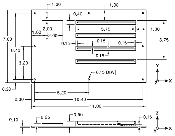 支持和学习 simulation mechanical  装配件由六个部件(电路板,芯片和