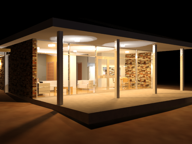 scene management and nighttime lighting 3ds max autodesk