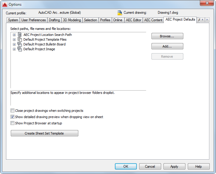 To Create a Sheet Set Template | AutoCAD Architecture | Autodesk ...
