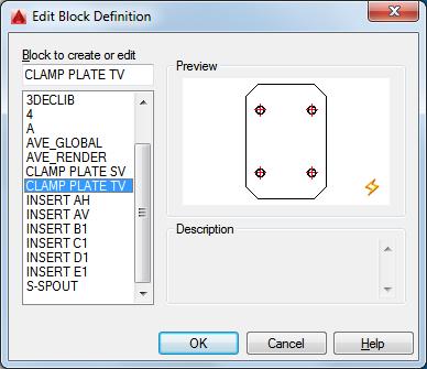 AutoCAD 2016 Help: Edit Block Definition Dialog Box