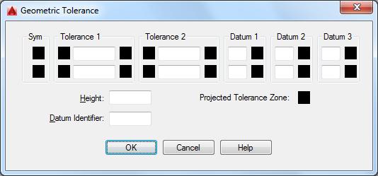 Geometric Tolerance Dialog Box Autocad 2016 Autodesk Knowledge