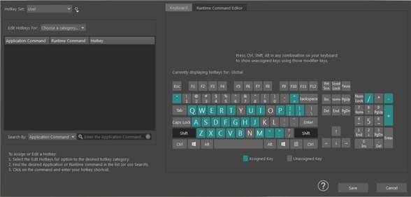 Hotkey Editor | Maya 2016 | Autodesk Knowledge Network