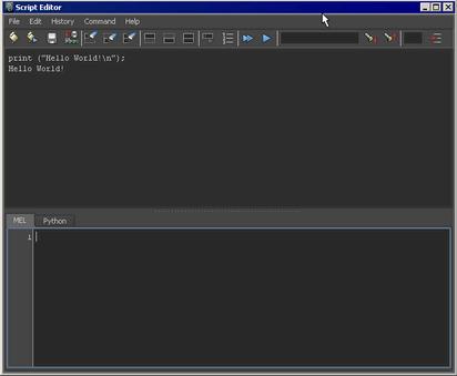 Run a MEL script   Maya 2016   Autodesk Knowledge Network