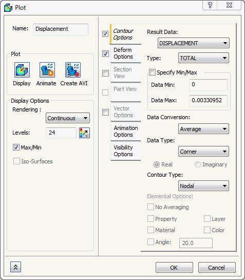 Nastran In-CAD 2016 Help: Plot Templates