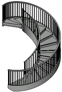 Completed Spiral Staircase