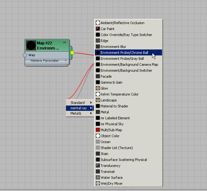 Mattheit/Schatten/Reflexion (mi)-Material   3ds Max 2017   Autodesk ...