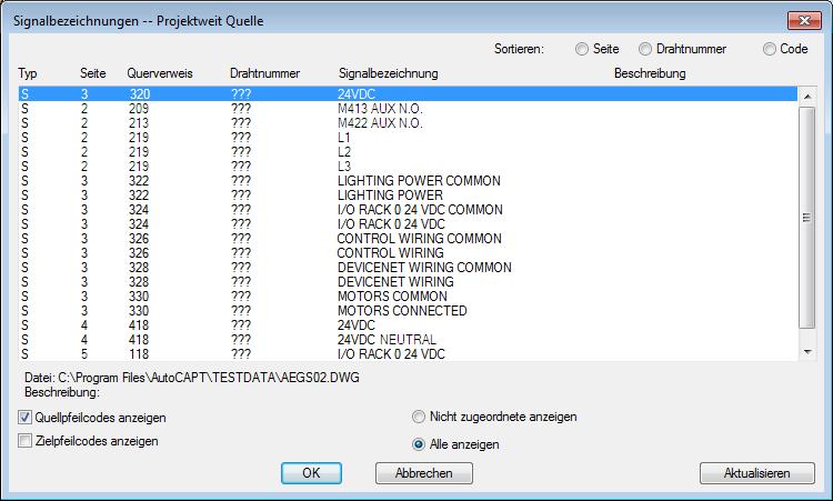 Zielsignalpfeile | AutoCAD Electrical | Autodesk Knowledge Network