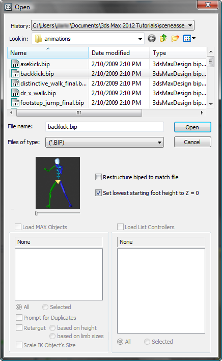 Download bip 3ds max