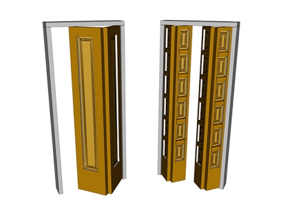 Single and double bifold doors  sc 1 st  Autodesk Knowledge Network & BiFold Door | 3ds Max | Autodesk Knowledge Network