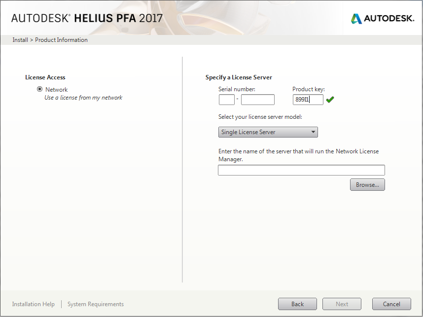 Installation and Licensing for Windows | Helius PFA 2017