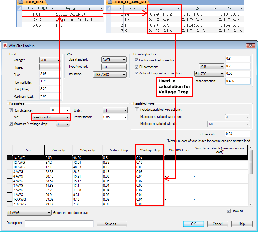 About the Circuit Builder Electrical Standards Database | AutoCAD ...