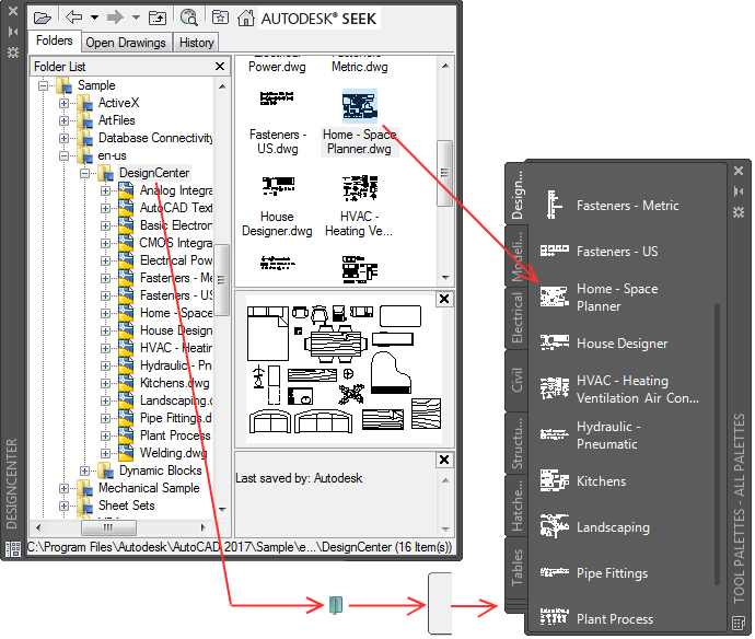 About creating tool palettes autocad lt autodesk knowledge network methods for adding tools to tool palettes ccuart Image collections