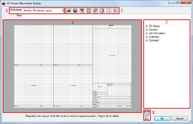 Help Worksheet Toolbar Commands – Worksheet Builder