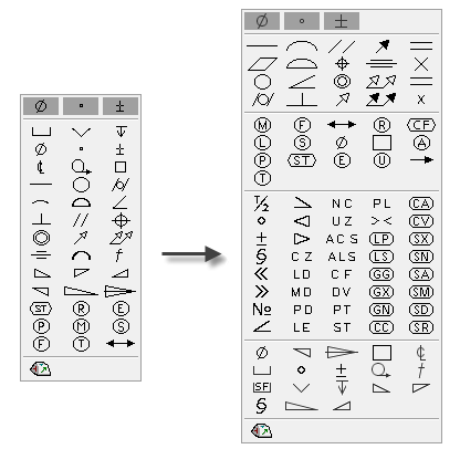 Symbols And Symbol Styles Enhancements Inventor Products