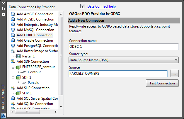 Exercise 2: Connect to the Microsoft Access database