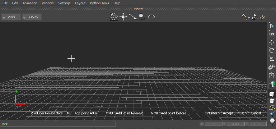 Create a 3D curve | MotionBuilder 2017 | Autodesk Knowledge