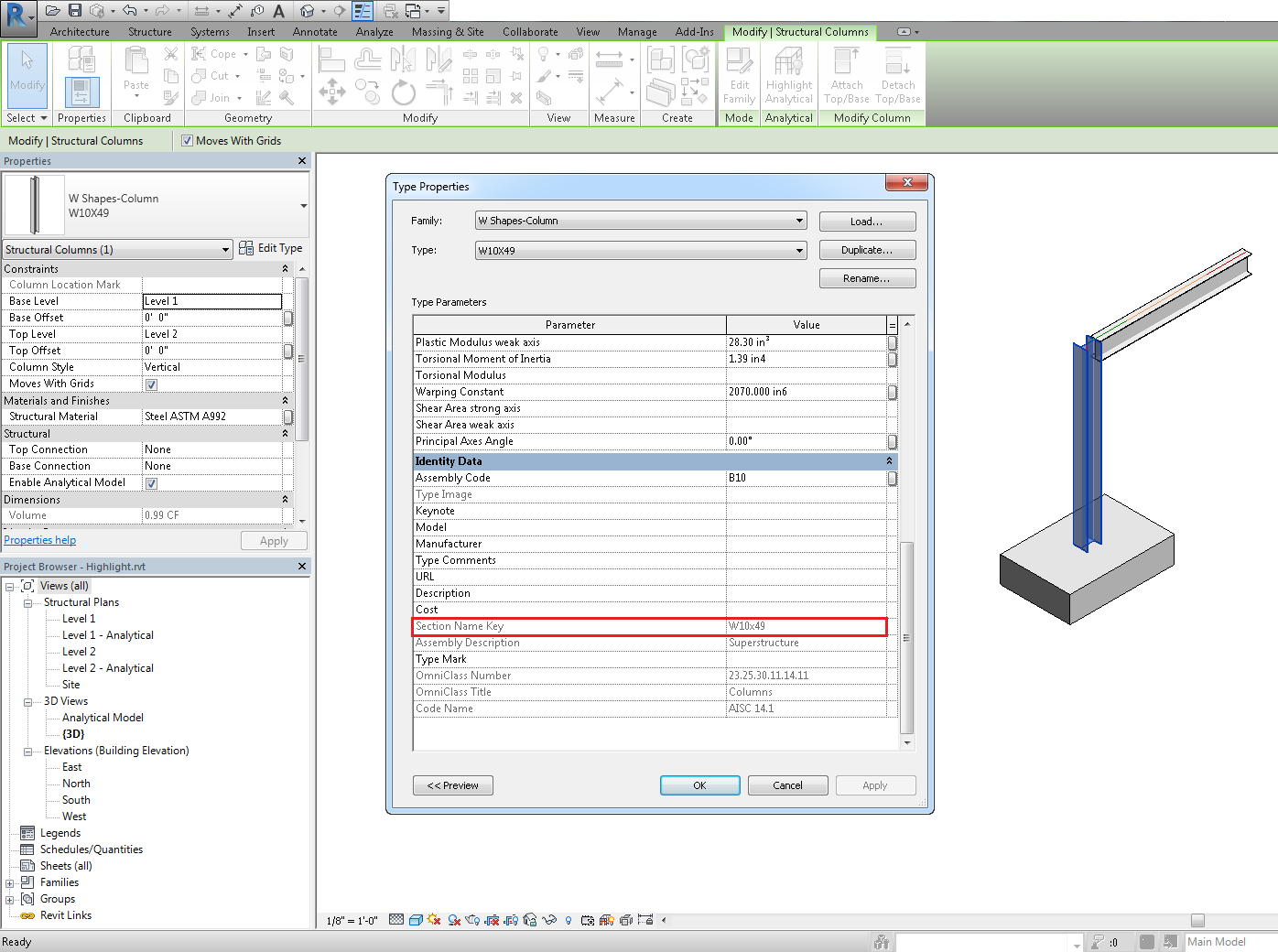 Certified families for steel connections revit products note once you place a steel connection on a beam it will create the connection elements and it will also control the fabrication representation of the 1betcityfo Choice Image
