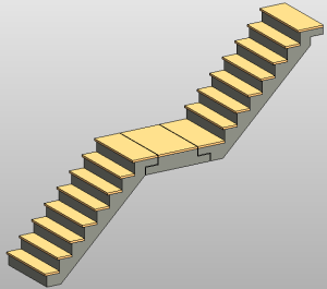 Superbe Precast Stair: Notch Connection