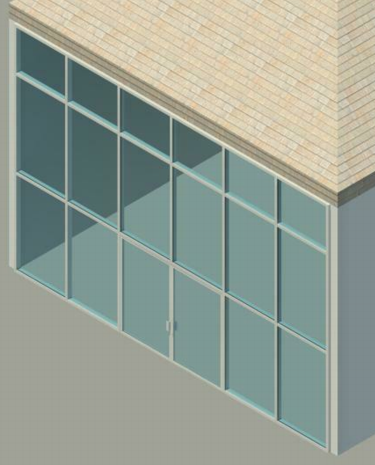 Add a Door to a Curtain Wall | Revit LT 2017 | Autodesk