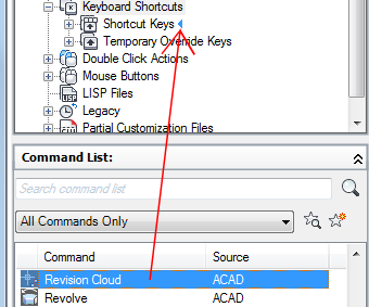 To Customize Shortcut Keys | AutoCAD LT 2018 | Autodesk