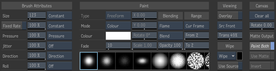 Painting Brush Strokes | Search | Autodesk Knowledge Network
