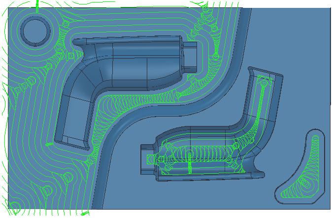 3D Vortex toolpaths | FeatureCAM 2018 | Autodesk Knowledge Network