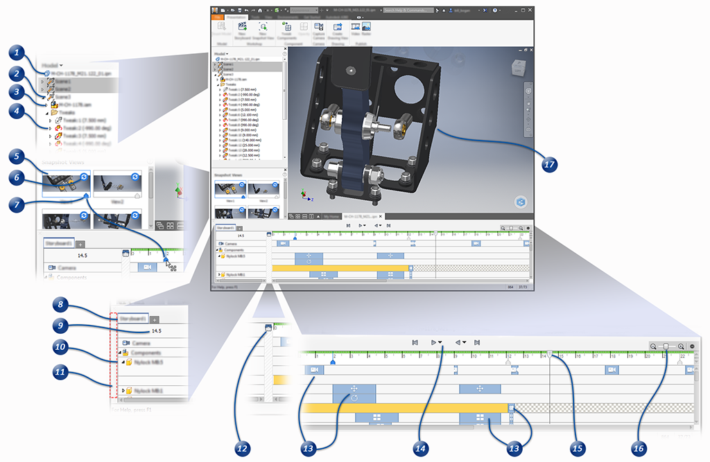 presentation user interface reference inventor products 2018 rh knowledge autodesk com