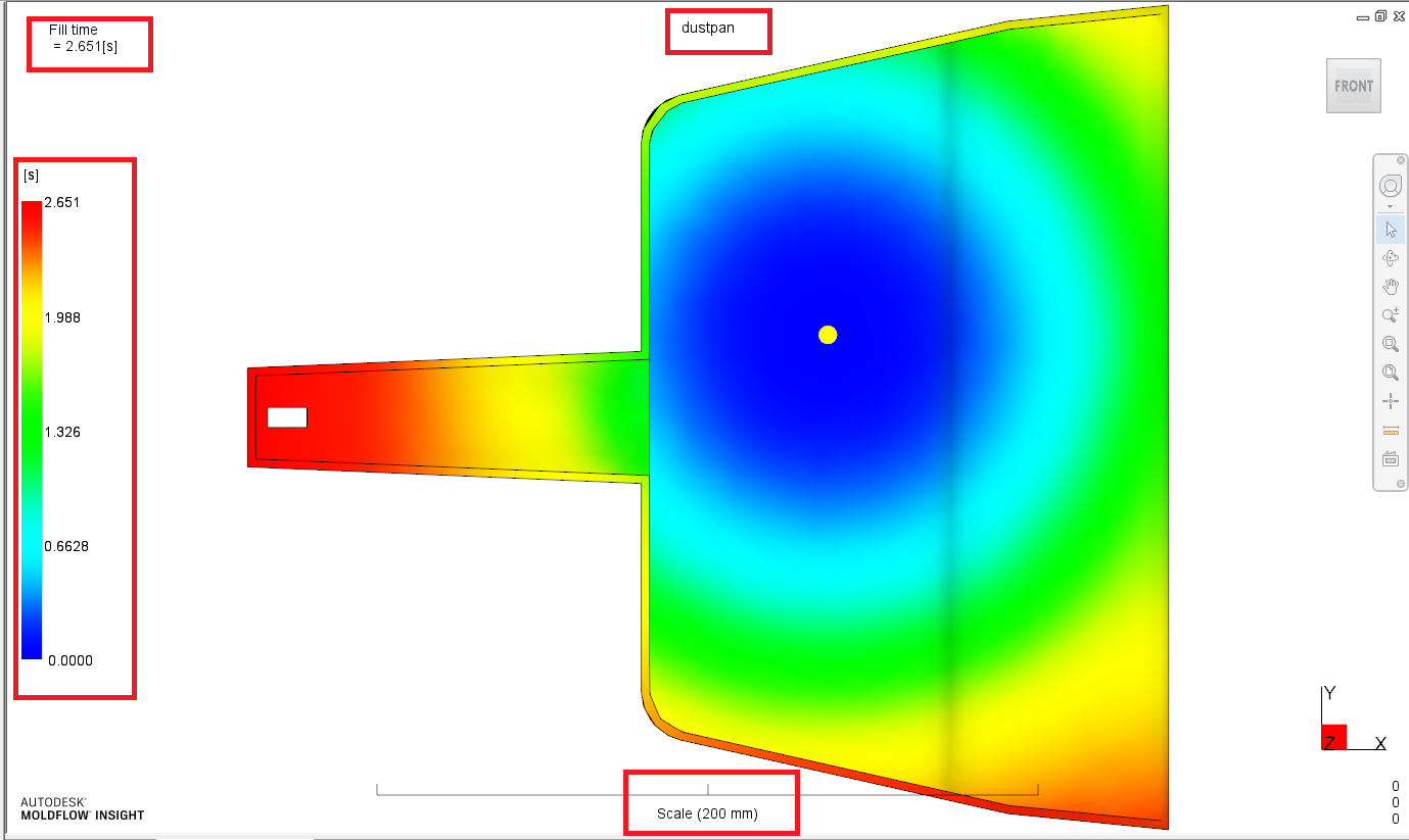 Changing the font of the results | Moldflow Insight 2018 | Autodesk