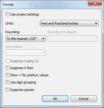 Edit Unit Formats Revit Products 2018 Autodesk Knowledge Network