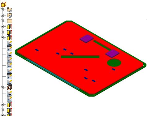关于idf 电路板文件
