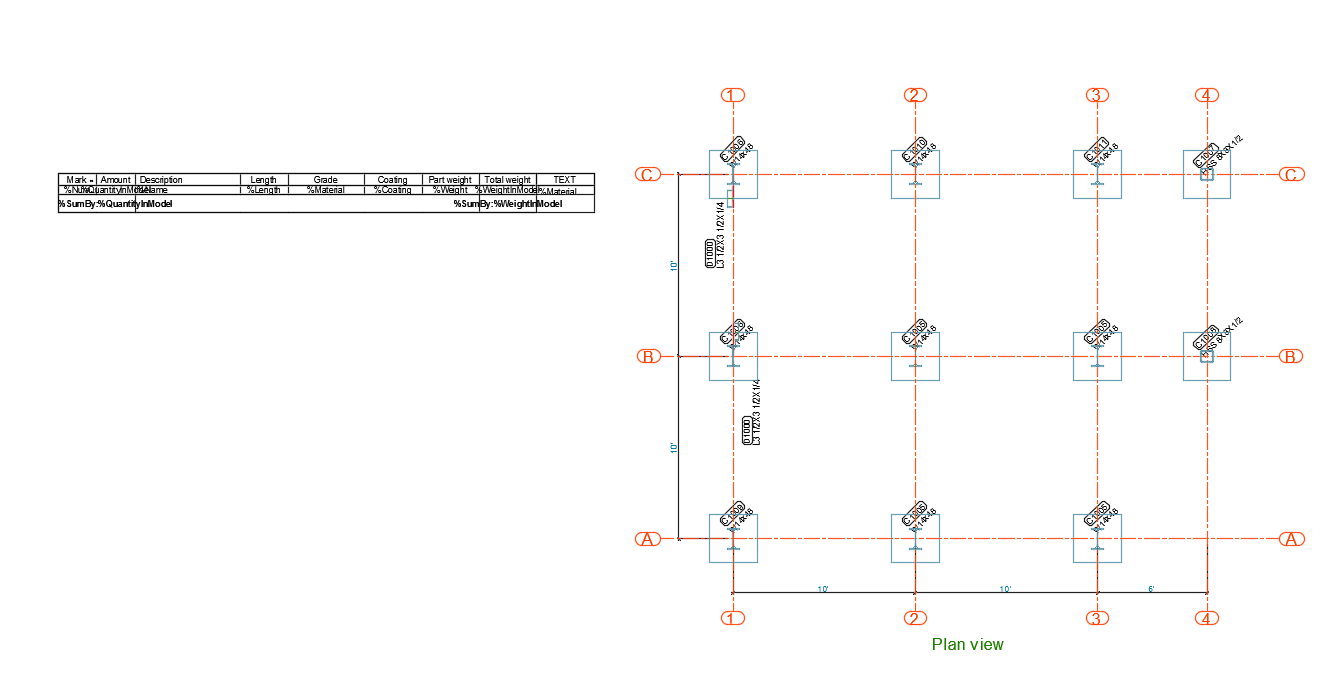 FAQ: How to customize a BOM on drawing template? | Advance Steel ...