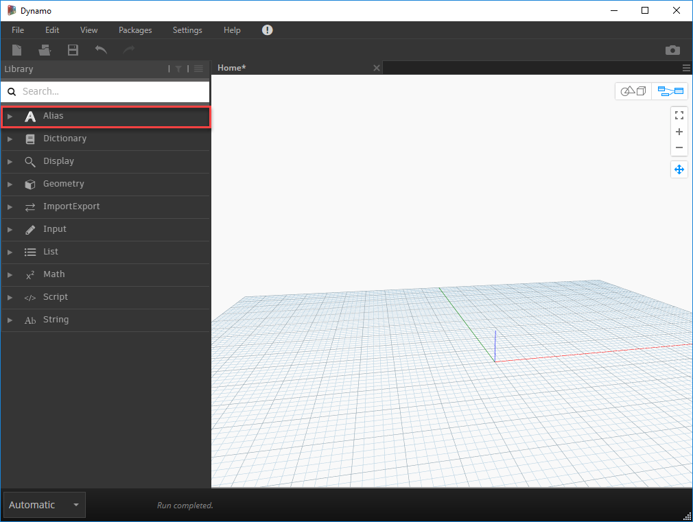 Dynamo Resources | Alias Products 2019 | Autodesk Knowledge