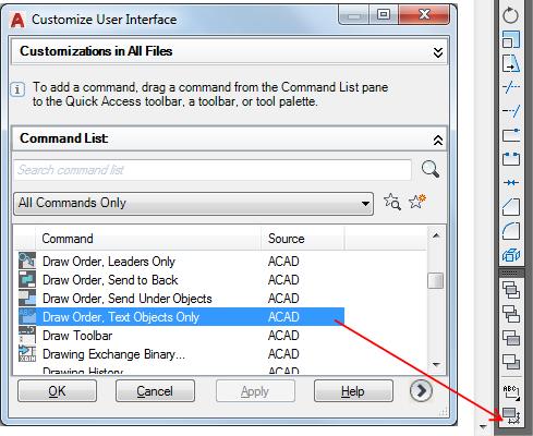 To Customize a Toolbar | AutoCAD LT 2019 | Autodesk