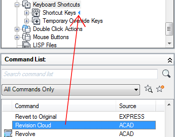 To Customize Shortcut Keys   AutoCAD LT 2019   Autodesk Knowledge