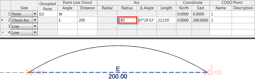 To Input Traverse Data in the Traverse Editor | Civil 3D 2019
