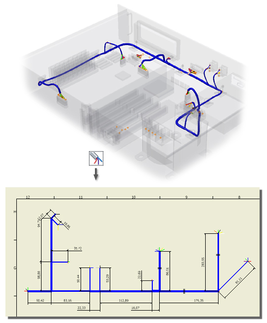 about the nailboard environment in cable and harness inventor 2019  wire harness drawing standards #12