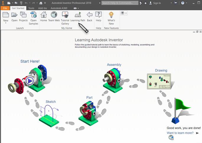 Swell Get Started Tutorials Inventor 2019 Autodesk Knowledge Download Free Architecture Designs Lukepmadebymaigaardcom